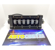 Светодиодная Led фара с ровной СТГ 27см 48W 12-24V