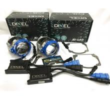 Набор для замены штатных линз Audi A5, Q7, Q7 на Biled Dixel GTR