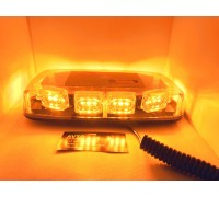 Светодиодная мини-балка / панель оранжевая 12-24V короткая 40Вт