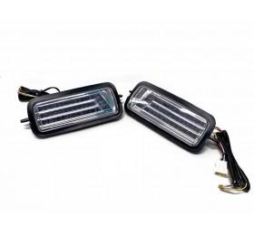 Светодиодные LED подфарники + бегущий поворотник Нива / Нива Урбан