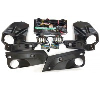 Полный набор LED противотуманных фар Lada Vesta / Лада Веста