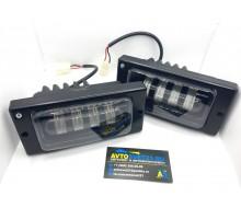 Фары противотуманные LED ВАЗ 2110-2115 40Вт 4 линзы