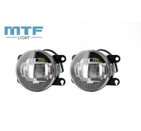 Фары противотуманные MTF LED Лада Веста / X-Ray FL10W 5000K светодиодные комплект пара 2шт. купить недорого в магазине avtosvet21.ru
