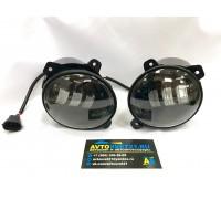 Фары противотуманные LED Lada Granta / Kalina / Largus 3000K + 6000K (2-х режимные)