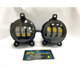 Фары противотуманные LED Лада Приора / Газель (2-х режимные)