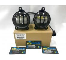 Фары противотуманные LED Lada Priora / Лада Приора / Газель