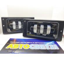 Фары противотуманные LED ВАЗ 2110-2115 60Вт 5 линз