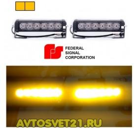 Стробоскоп FEDERAL SIGNAL 12/24V 48Вт (Оранж.)