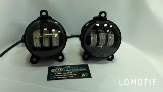 LED ПТФ 3000К+6000К