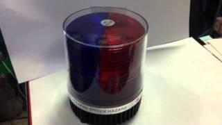 Мигалка стробоскопная Красно-Синяя Hazard 12V