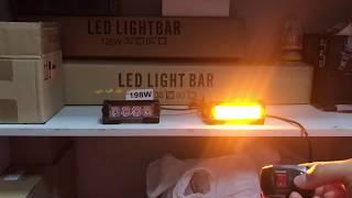 Стробоскоп Federal 4 LED Оранжевый
