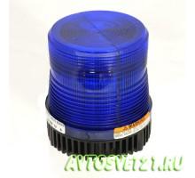 Мигалка стробоскопная Синяя Hazard 12-24V