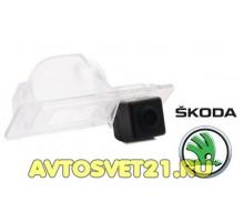 Камера заднего вида Skoda Rapid 2012-2017