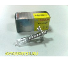 Автолампа H1 BOSCH Pure Light