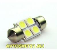 Лампа светодиодная c5w 4SMD 36mm
