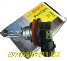 Автолампа H11 BOSCH Pure Light
