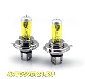 Автолампы всесезонные Torino 12В 55Вт Желтые (Yellow)