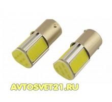 Лампа светодиодная P21W 4-Cob chip