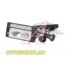 Фары противотуманные ВАЗ 2110-2115 с ДХО