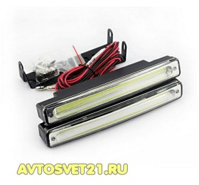 Дневные Ходовые Огни высокой мощности KS-C1684 (160*35*21мм) 9-32V + Стабилизатор