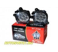 Фары противотуманные LED светодиодные Лада Приора