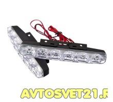 Дневные Ходовые Огни DRL 2х6 LED - 155*33*18мм