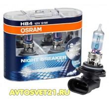 Автолампы HB4 OSRAM Night Breaker Plus +90%