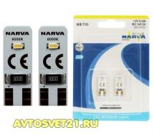 Лампы светодиодные LED w5w T10 NARVA LED 6000K