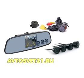 Парктроник SVS TFT 4,3 монитором+камера+4 датчика