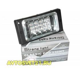 Фары противотуманные светодиодные ВАЗ 2110-2115 ДХО LED
