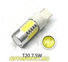 Лампа светодиодная Т20 5LED 7,5W (1-х конт.)
