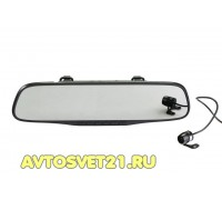 Видеорегистратор + Зеркало SilverStone F1 NTK-351 Duo