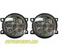 Фары противотуманные LED светодиодные Lada Vesta