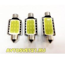 Лампа светодиодная c5w cob 36/39/41mm  с Обманкой