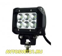 Светодиодная балка / фара-прожектор 18W Spot 10-30V