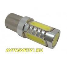 Лампа светодиодная P21/5W 7.5W cob 2-х конт.