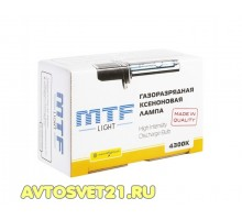 Лампа Ксеноновая MTF HB4 4300K