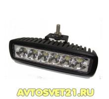 Универсальная Светодиодная балка / фара-прожектор 18W 10-30V