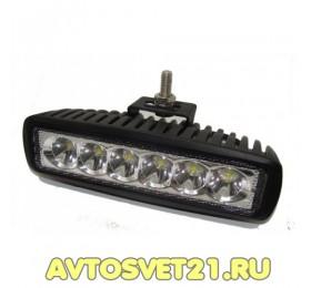 Светодиодная фара-прожектор 18W Spot 10-30V