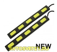 Дневные Ходовые Огни высокой мощности X-5LED 12V - 153*4*18мм