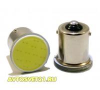 Лампа светодиодная P21W Cob 12V