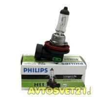 Автолампа H11 PHILIPS LongLife Eco Vision