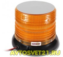 Мигалка 72-LED SMD (Оранжевая) на батарейках