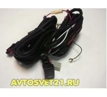 Комплект для подключения ПТФ Toyota + Кнопка