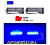 Стробоскоп FEDERAL SIGNAL 12/24V 48Вт (Синий)
