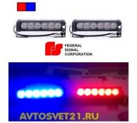 Стробоскоп FEDERAL SIGNAL 12/24V 48Вт (Красно-Синий)