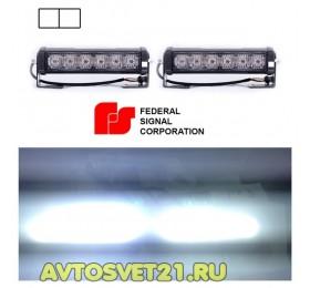 Стробоскоп FEDERAL SIGNAL 6 LED 12/24V 48Вт (Белый)
