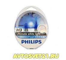 Автолампы H3 PHILIPS Diamond Vision 5000K