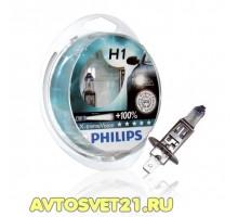 Автолампы H1 PHILIPS X-Treme Vision +100%