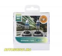 Автолампы H27 (881) SVS Intensive +130%
